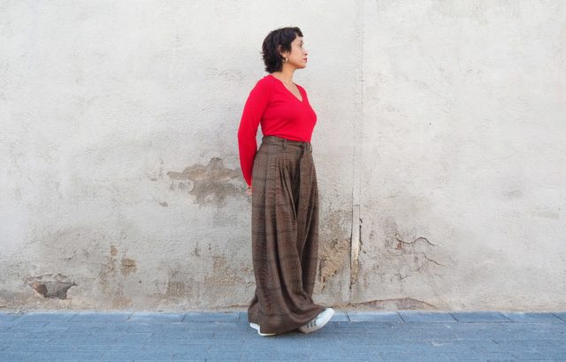 Ana Sabina Trousers Checks 2 - LR3