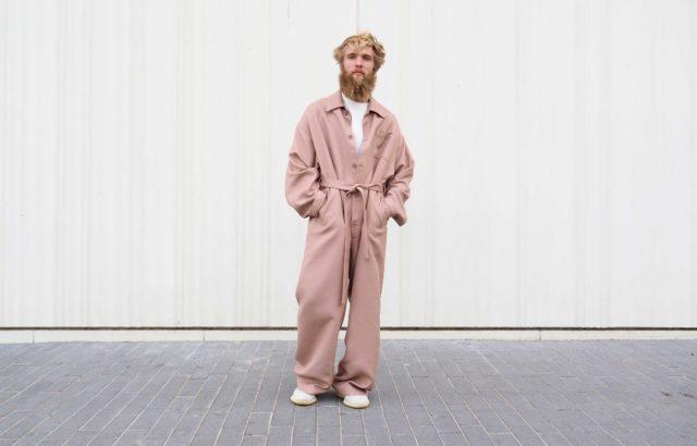 Arthur Bernard Bazin Overall Dusty Pink - LR3