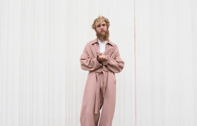 Dusty Pink Overall - LR3