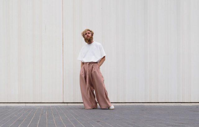 Arthur Bernard Bazin Trousers Dusty Pink - LR3
