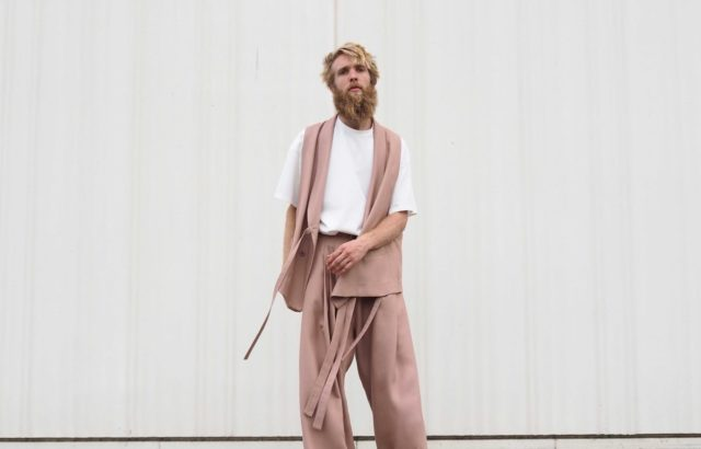 Arthur Bernard Bazin Vest Dusty Pink - LR3