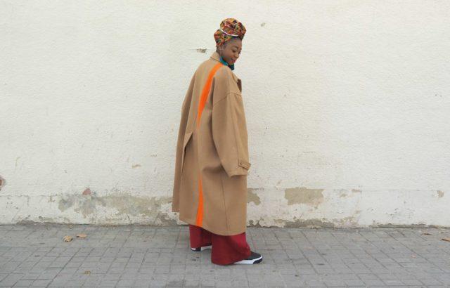 Asunita Ndong Coat Camel - LR3