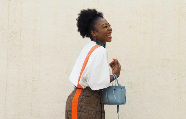 Asunita Ndong Trousers Checks 2 - LR3