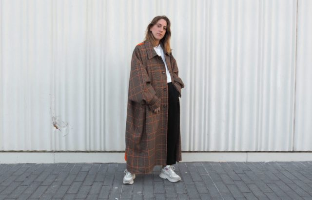Diana Rigata Coat Checks 1 - LR3
