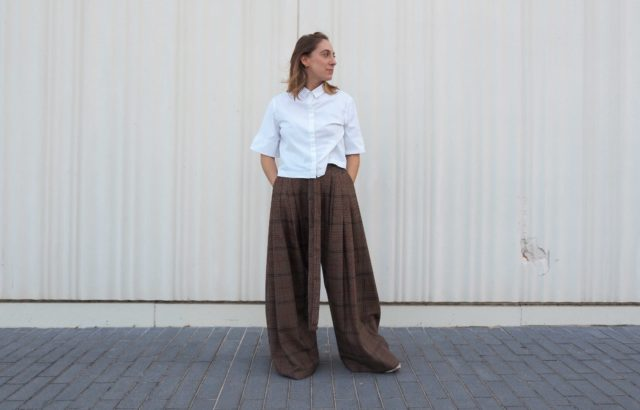Diana Rigata Trousers Checks 2 - LR3