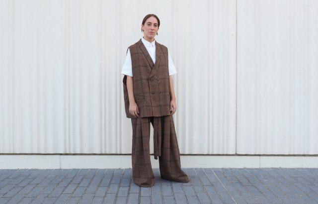 Diana Rigata Vest Checks 2 - LR3