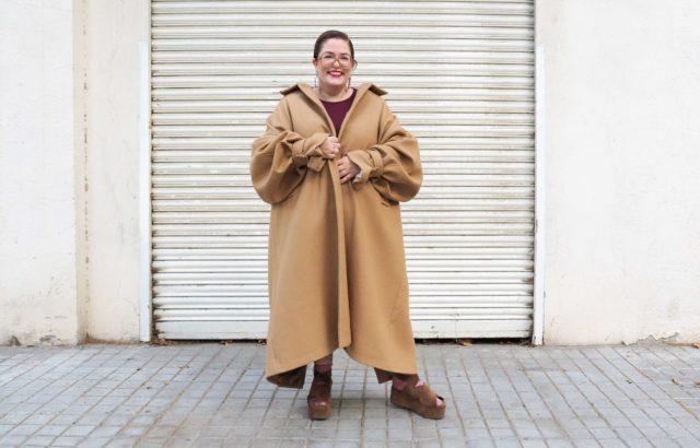 Lidia Juvanteny Coat Camel - LR3