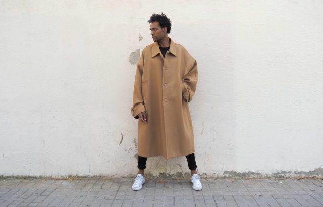 Óscar Edú Coat Camel - LR3