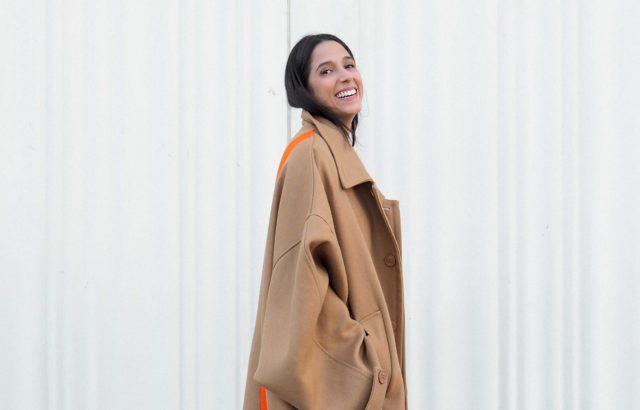 Paula Guerra Coat Camel - LR3