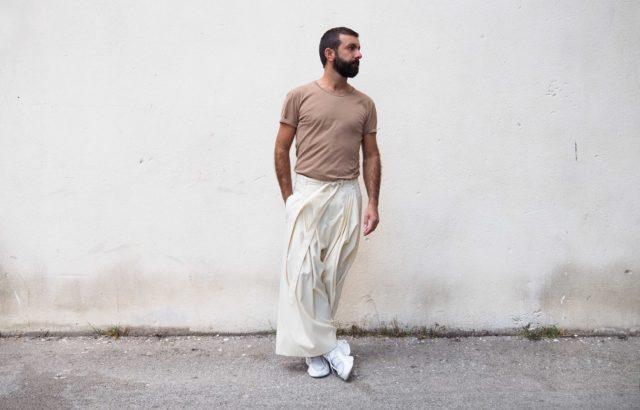 Pedro Campello Trousers Ecru - LR3