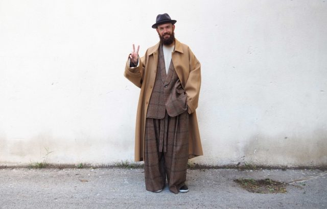 Pere Jou Coat Camel - LR3