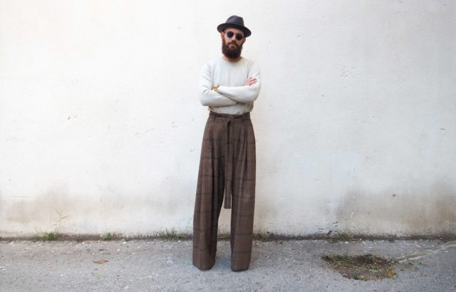 Pere Jou Trousers Checks 2 - LR3