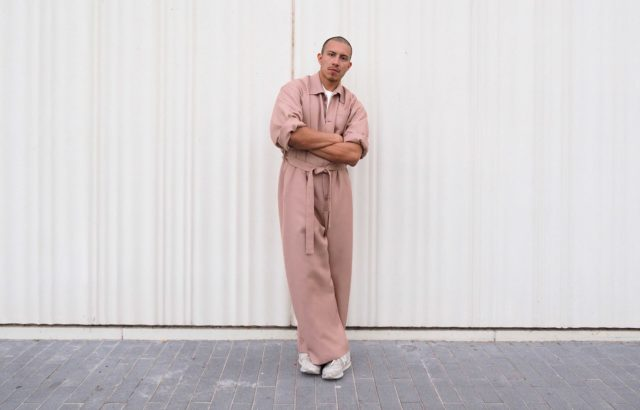 Raul Martínez Overall Dusty Pink - LR3