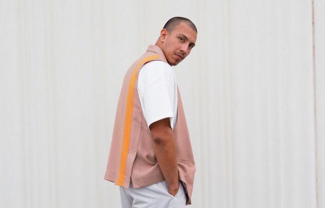 Raul Martínez Vest Dusty Pink - LR3