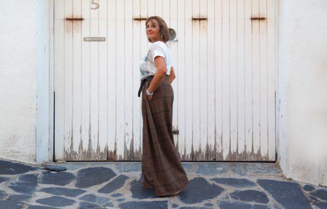 Rizalina Álvarez Trousers Checks 2 - LR3