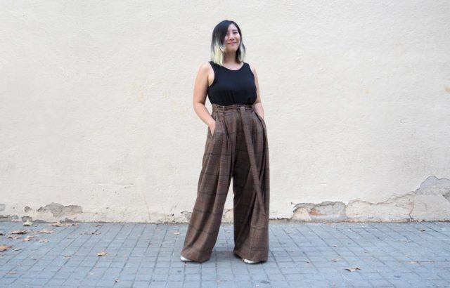 Sauling Wong Trousers Checks 2 - LR3