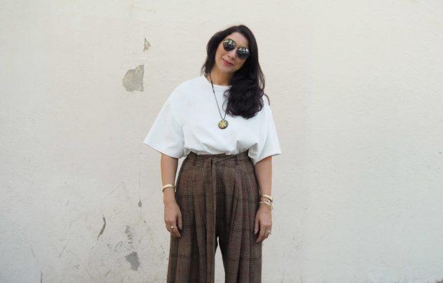 Sharona Almog T-Shirt White - LR3