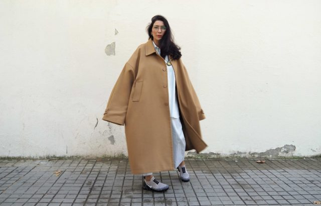 Sharona Almog Coat Camel - LR3