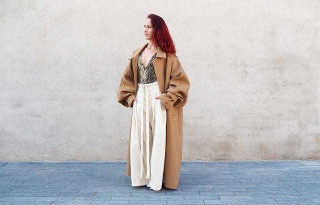 Alma Steiner Coat Camel - LR3