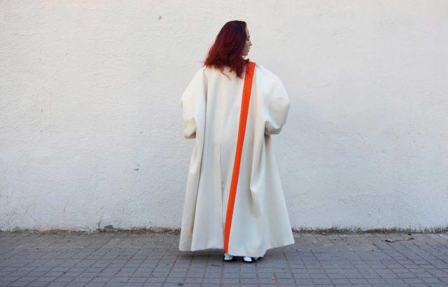 Alma Steiner Coat Ecru - LR3