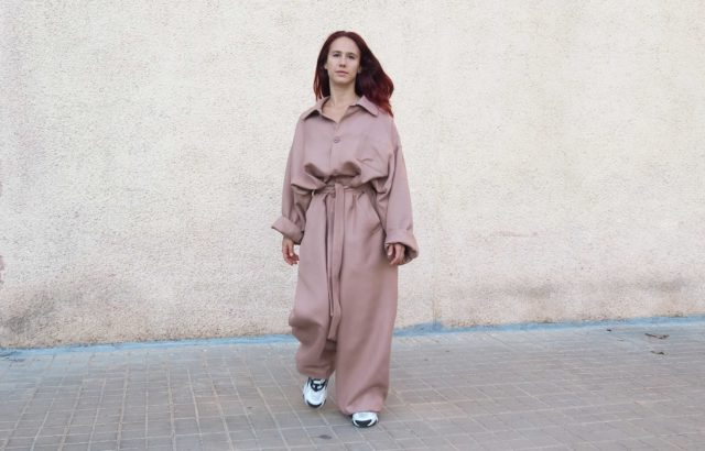 Alma Steiner Overall Dusty Pink - LR3