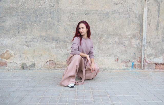 Alma Steiner Trousers Dusty Pink - LR3