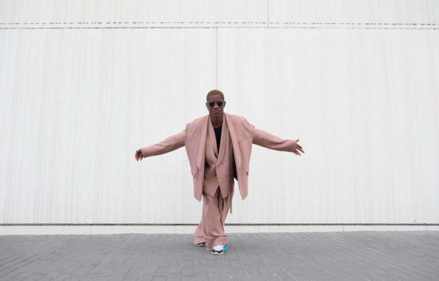 Baba Sy Blazer Dusty Pink - LR3