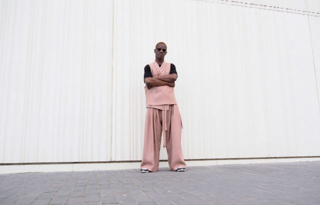 Baba Sy Vest Dusty Pink - LR3