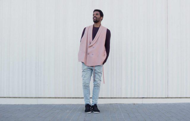 Keyvin Martínez Vest Dusty Pink - LR3