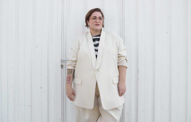 Lidia Juvanteny Blazer Ecru - LR3