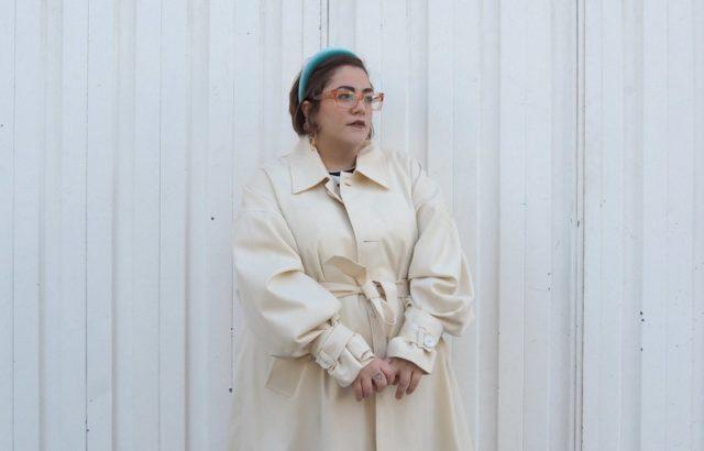 Lidia Juvanteny Coat Ecru - LR3