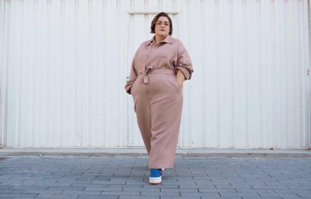Lidia Junvanteny Overall Dusty Pink - LR3