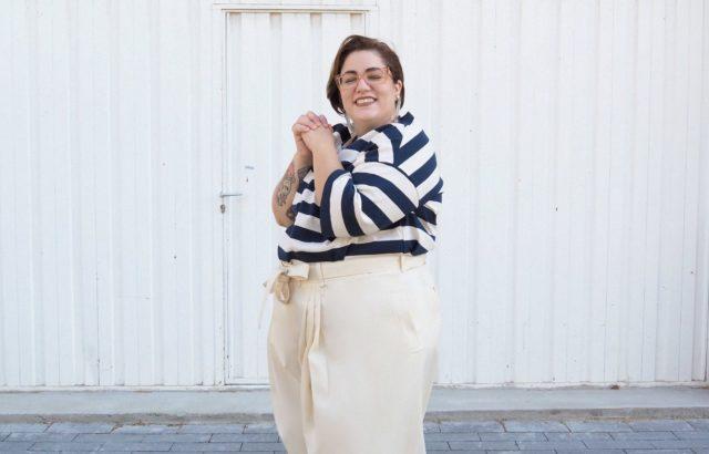 Lidia Juvanteny Trousers Ecru - LR3