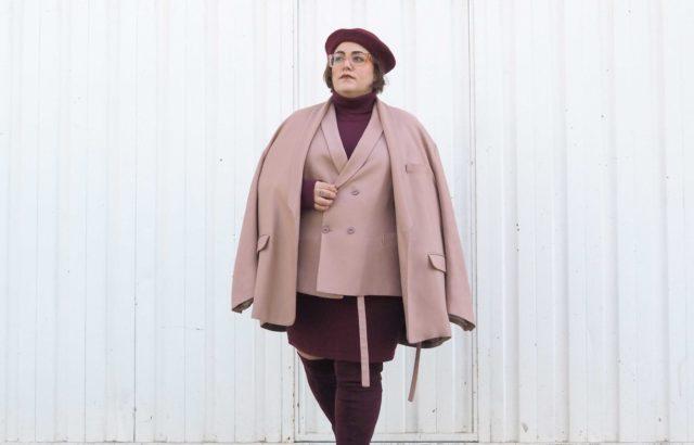 Lidia Juvanteny Vest Dusty Pink - LR3