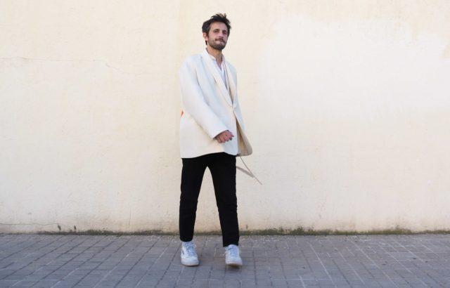Luis Aguilar Blazer Ecru - LR3