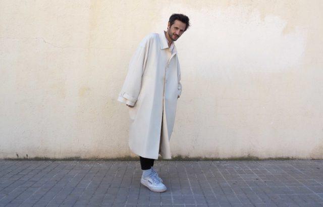 Luis Aguilar Coat Ecru - LR3