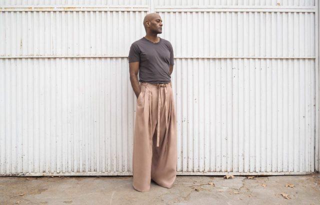 Moisés Bravo Trousers Dusty Pink - LR3