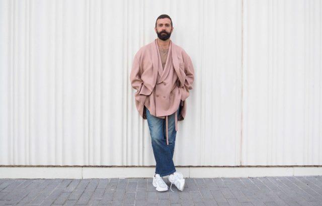 Pedro Campello Blazer Dusty Pink - LR3