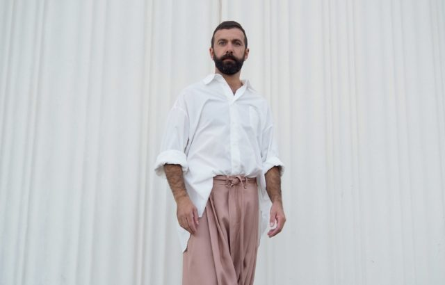 Pedro Campello Trousers Dusty Pink - LR3