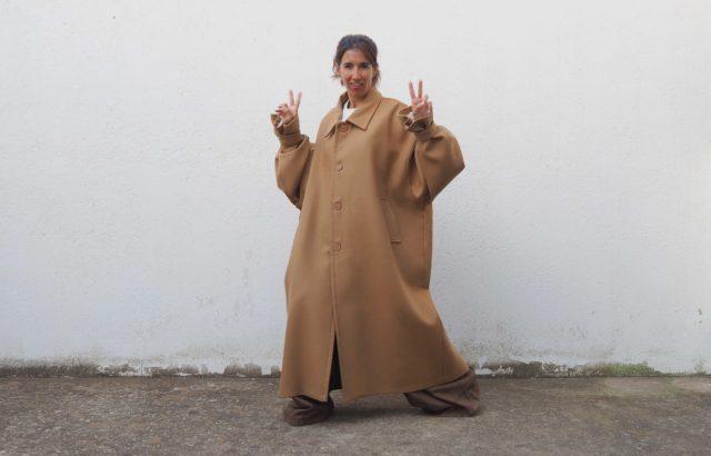 Diana Corrales Coat Camel - LR3