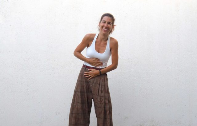 Diana Corrales Trousers Checks 2 - LR3