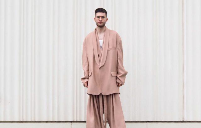Jose Carayol Blazer Dusty Pink - LR3