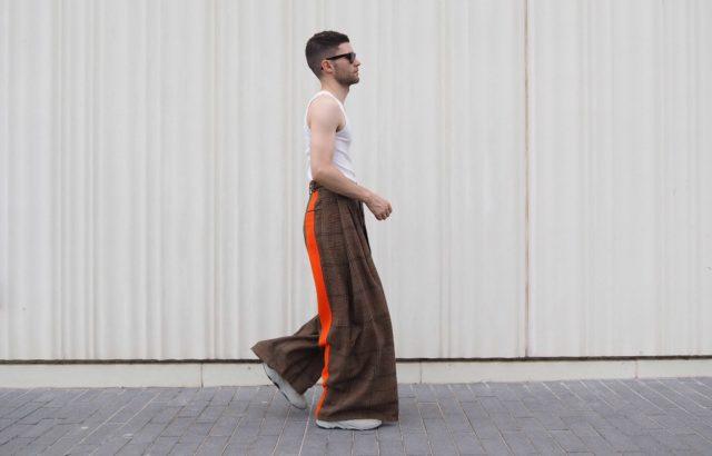 Jose Carayol Trousers Checks 2 - LR3