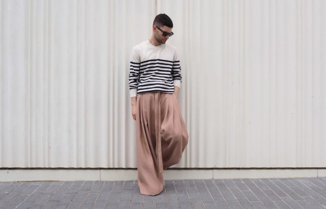 Jose Carayol Trousers Dusty Pink - LR3