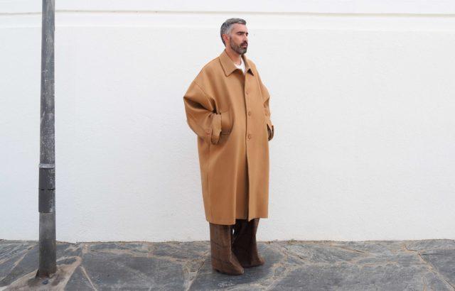 Jordi Obiols Coat Camel - LR3