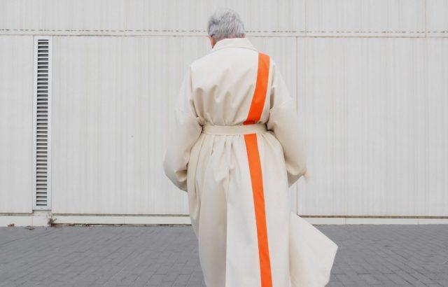 Lidia Mombiela Coat Ecru - LR3
