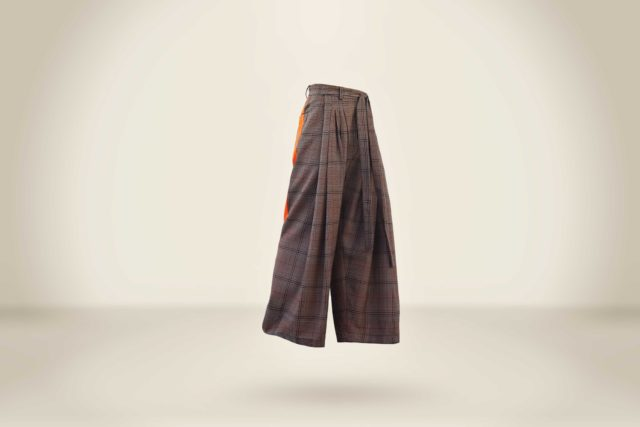 Sauling Wong Trousers Checks 2 - LR3