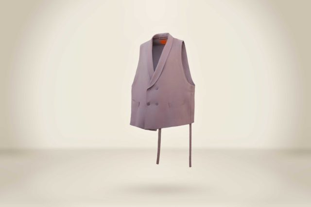 James Silva Vest Dusty Pink - LR3