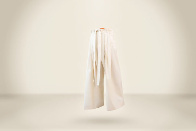 Ecru Trousers - LR3