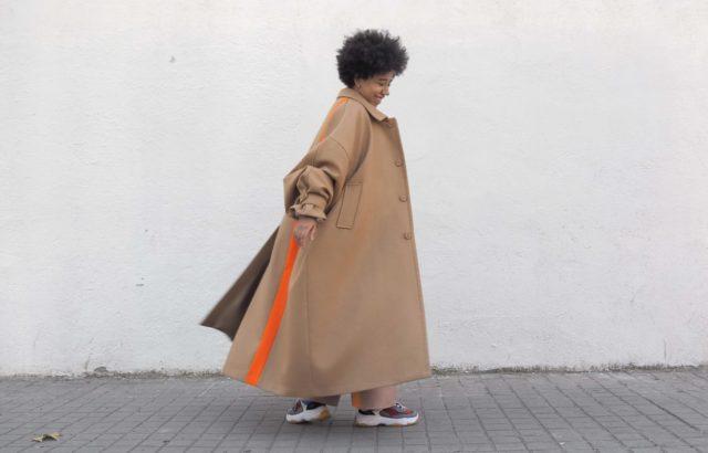 María Elisabeth Coat Camel - LR3